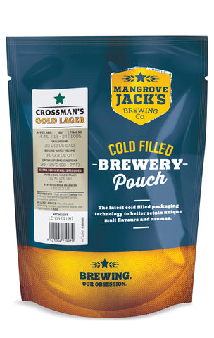 Traditional Series Crossman's Gold Lager - Mangrove Jacks