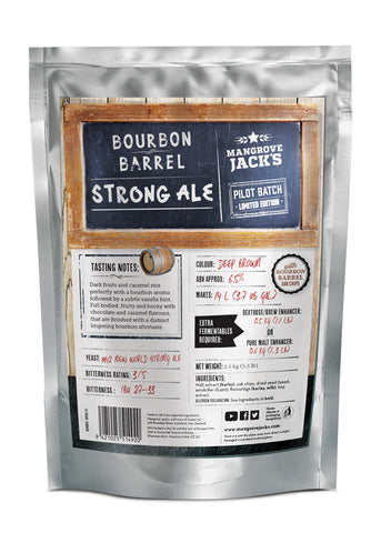 Bourbon Barrel Strong Ale (Limited Edition) - Mangrove Jacks