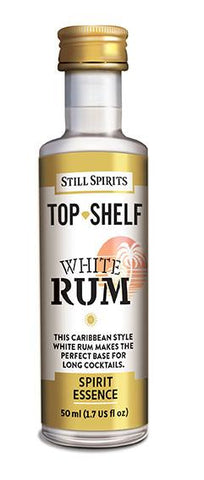 White Rum - Top Shelf Flavour Spirit