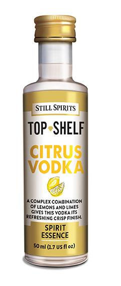 Citrus Vodka - Top Shelf Spirits