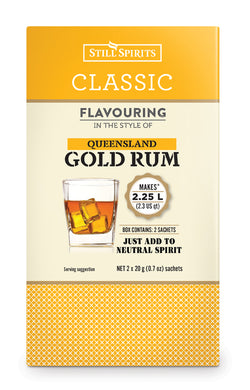 Classic Queensland Gold Rum Flavouring - Still Spirits