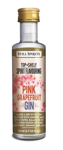 Pink Grapefruit Gin - Top Shelf Spirit