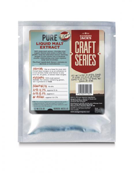 Pure Liquid Malt Extracts (1.2Kg) - Mangrove Jacks