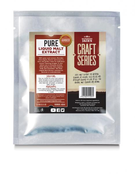 Pure Liquid Malt Extract Amber (1.5 Kg) - Mangrove Jacks