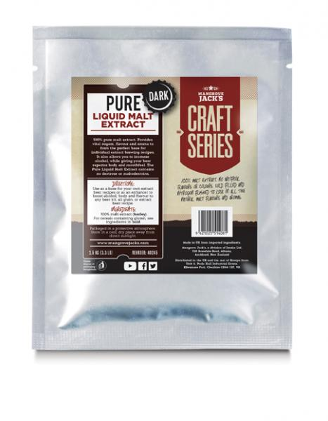 Pure Liquid Malt Extract Dark (1.5 Kg) - Mangrove Jacks