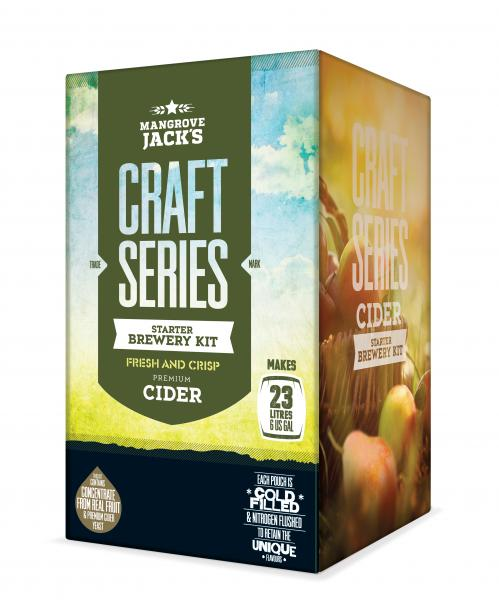 Craft Series Apple Cider Starter Brewery - Mangrove Jacks