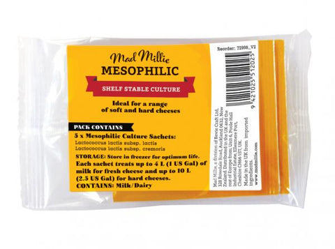 Mesophilic Culture (5 Sachets) - Mad Millie