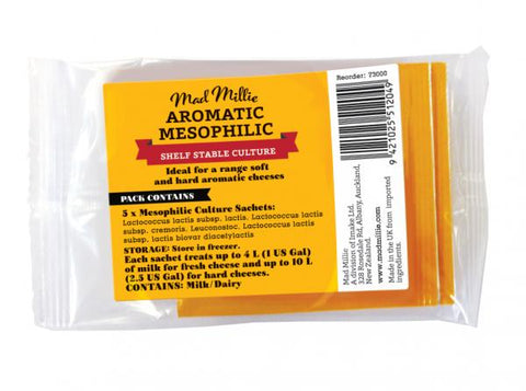 Aromatic Mesophilic Culture (5 Sachets) - Mad Millie