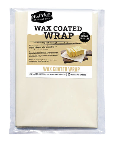 Wax Coated Wrap (Small)(10 pack) - Mad Millie