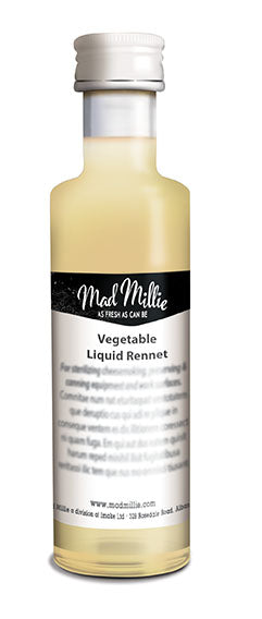 Vegetarian Liquid Rennet 50 ml - Mad Millie