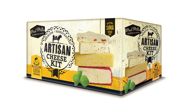 Artisan Cheese Kit - Mad Millie