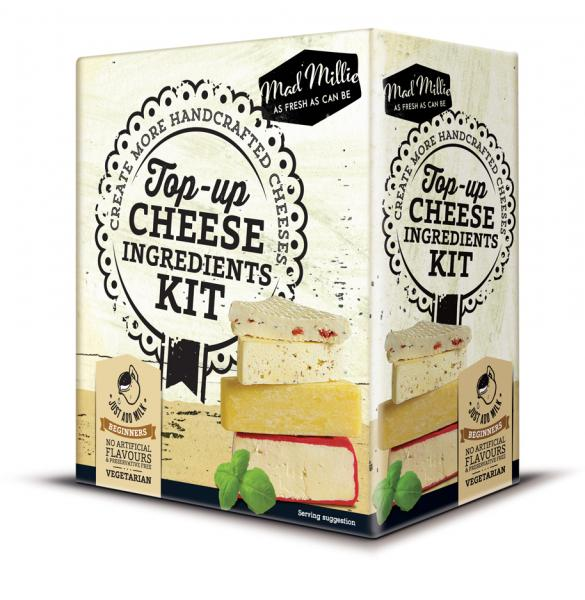 Top Up Cheese Ingredients Kit - Mad Millie