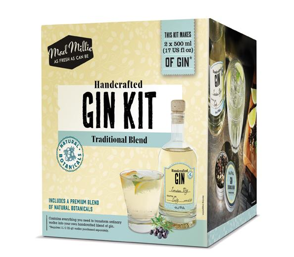 Handcrafted Gin Kit - Mad Millie