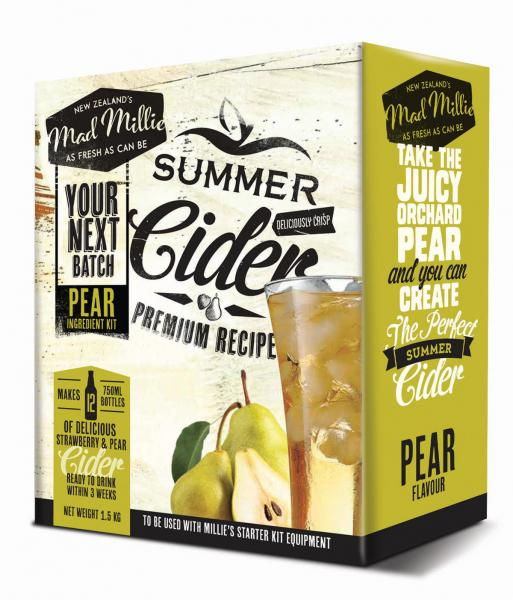 Next Brew Pear Cider - Mad Millie