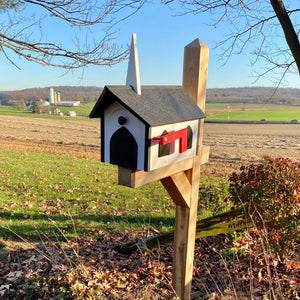 Beautiful Church Mailbox | Made from Durable Poly Lumber