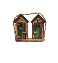 Load image into Gallery viewer, birdhouse outhouse style