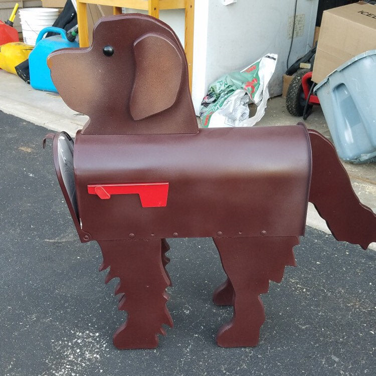 Newfoundland Mailbox | Unique Dog Mailbox