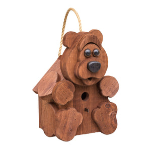 Bear Birdhouse | Hand Made from Reclaimed Wood | BH1