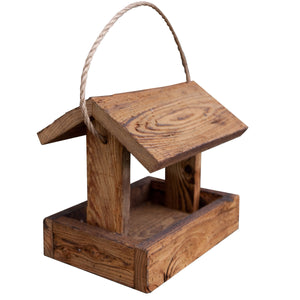 Simple Rustic Bird Feeder| Hand Made from Reclaimed Wood | BRF50
