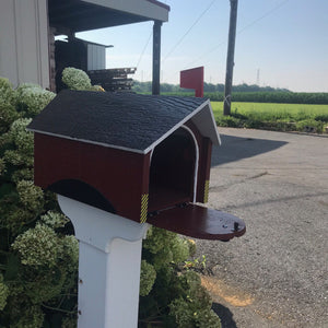 Covered Bridge Mailbox | Wood Mailbox | K0011