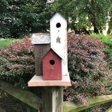 Load image into Gallery viewer, Rustic Birdtown Birdhouse | Amish Made