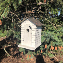 Load image into Gallery viewer, Outhouse Birdhouse | Made from Reclaimed Materials