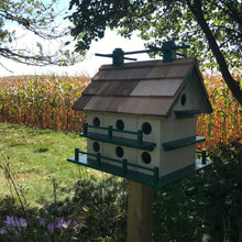 Load image into Gallery viewer, Martin House | Large Birdhouse | Amish Made | Yard and Garden Decor | K0003
