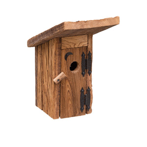 Outhouse Birdhouse | Hand Made from Reclaimed Wood | bh8