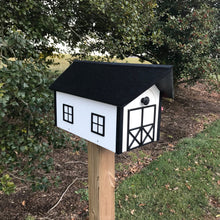 Load image into Gallery viewer, Barn Style Mailbox | Poly Lumber | Free Shipping | Durable Quality Craftsmanship | E250