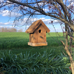Simple Rustic Birdhouse | Hand Made from Reclaimed Wood | RBH33