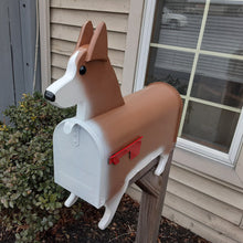 Load image into Gallery viewer, Corgi Mailbox | Pembroke Welsh Corgi | Unique Dog Mailbox