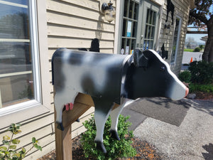 Unique Cow Mailbox | Perfect for Farm or Cow Lover!