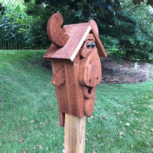 Load image into Gallery viewer, Moose Birdhouse | Amish Made