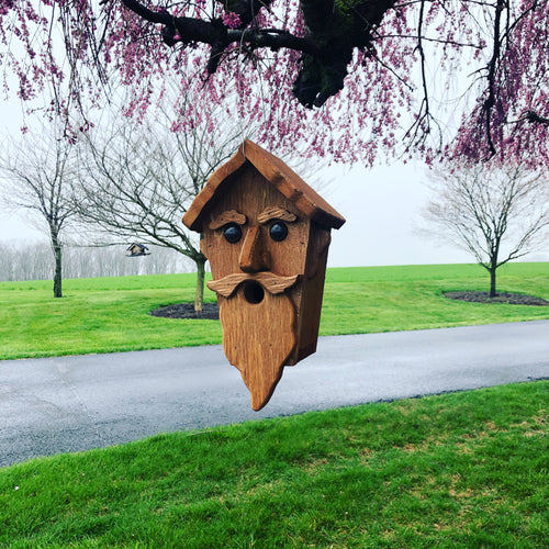 Wizard Birdhouse | Hand Made from Reclaimed Wood