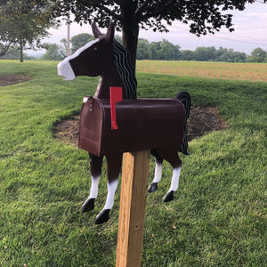 We are are not horsing around!! Unique and Quirky Horse Mailbox