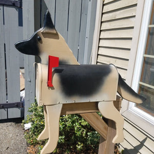 German Shepherd Mailbox | Unique Dog Mailbox