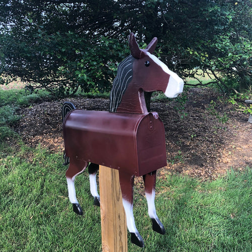 Unique Horse Mailbox | Perfect for Horse Farm or Horse Lover! | pp005