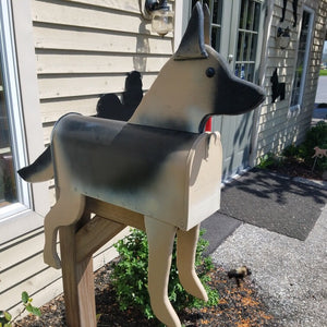 German Shepherd Mailbox | Unique Dog Mailbox | PP002