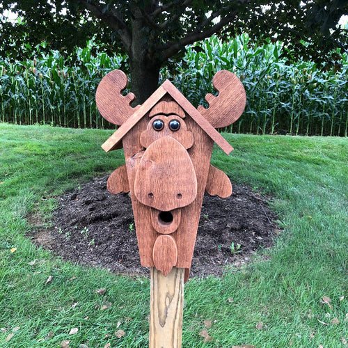 Moose Birdhouse | Amish Made