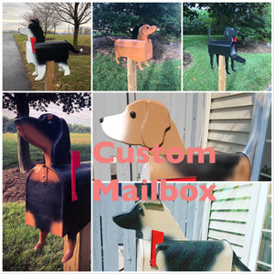 Custom Dog Mailbox | Unique Dog Mailbox