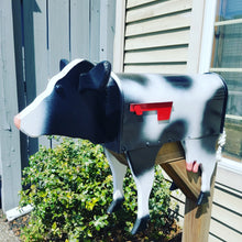 Load image into Gallery viewer, Unique Cow Mailbox | Perfect for Farm or Cow Lover!
