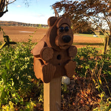 Load image into Gallery viewer, Bear Birdhouse | Hand Made from Reclaimed Wood | BH1