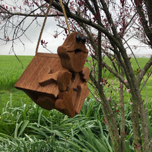 Load image into Gallery viewer, Frog Birdhouse | Hand Made from Reclaimed Wood