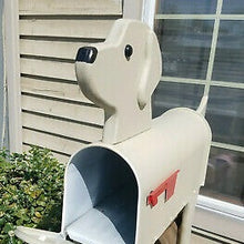 Load image into Gallery viewer, Yellow Lab | Unique Dog Mailbox | pp003