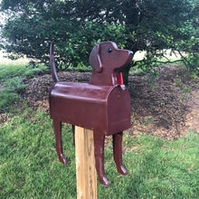 Load image into Gallery viewer, Chocolate Lab | Unique Dog Mailbox