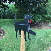 Load image into Gallery viewer, Black Lab | Unique Dog Mailbox