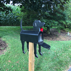 Black Lab | Unique Dog Mailbox