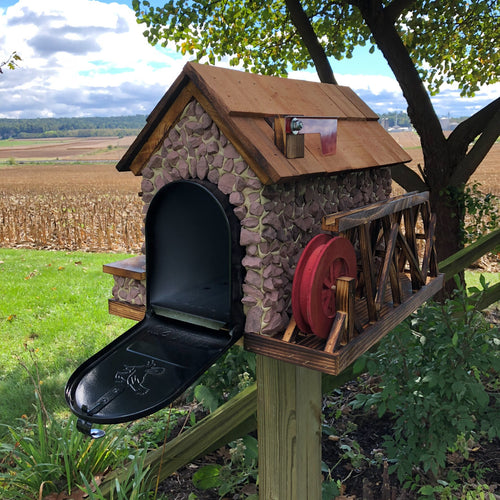 Old Mill Mailbox | Amish made | AK001