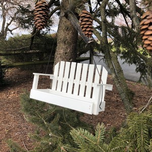 White Porch Swing Bird Feeder| Made from Recycled Plastic | CP008