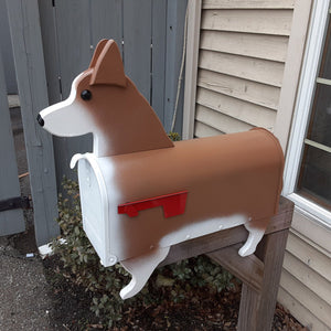 Corgi Mailbox | Pembroke Welsh Corgi | Unique Dog Mailbox